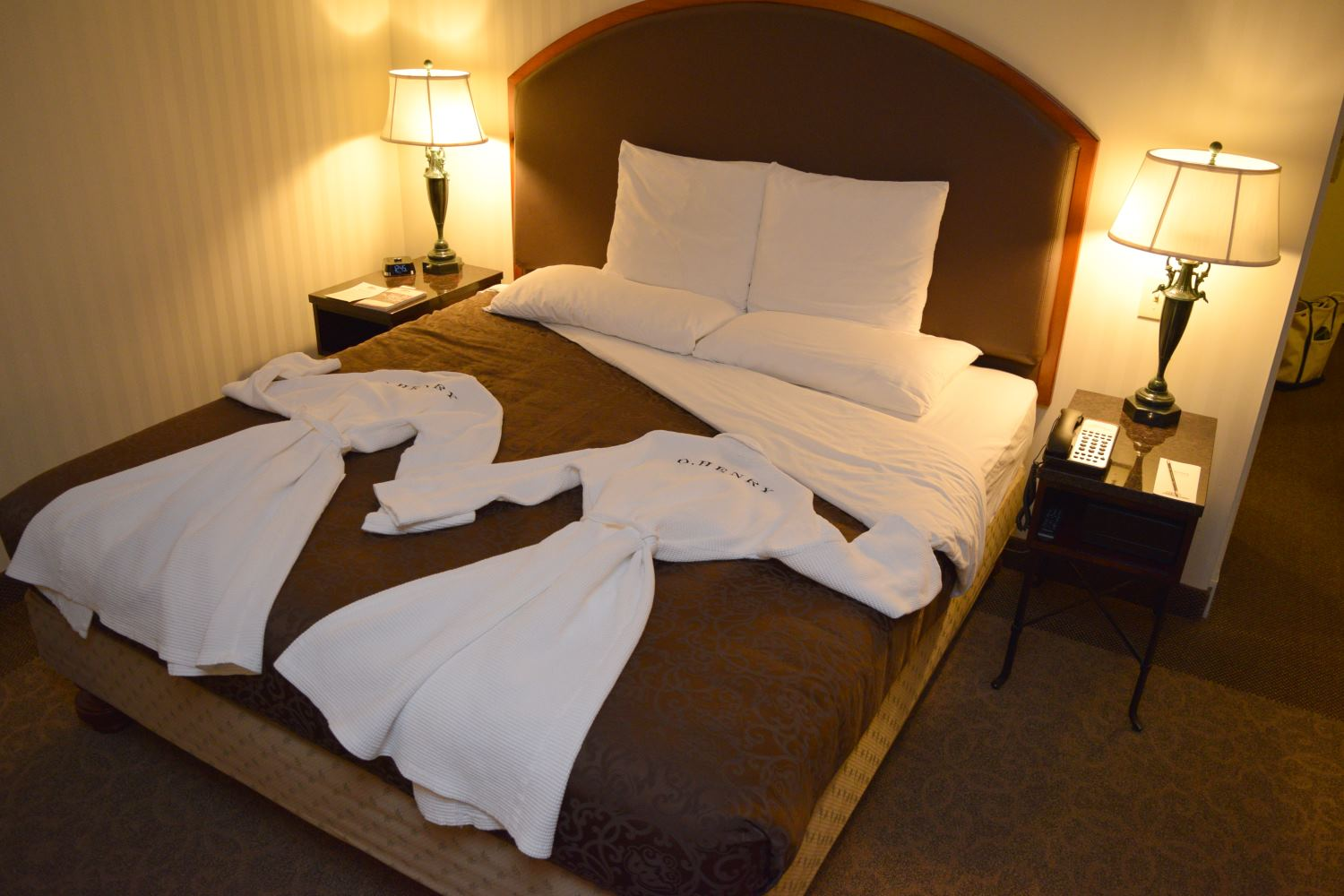 Turndown Service at O.Henry Hotel