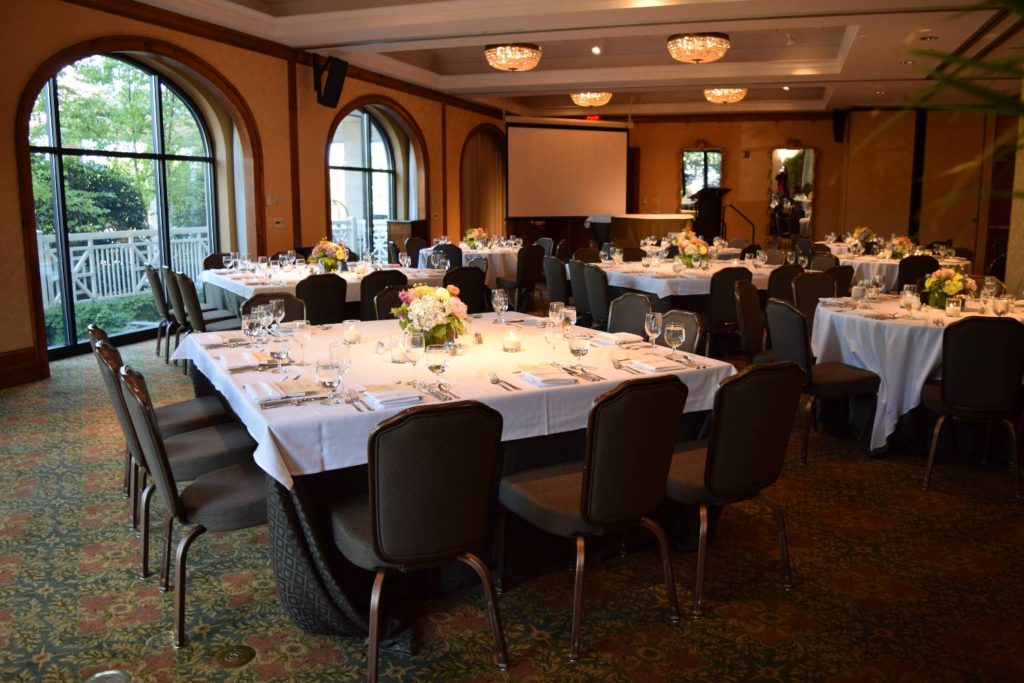 Dinner Event in Caldwell Room at O.Henry Hotel