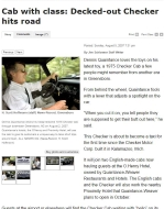 Checker Cab Article