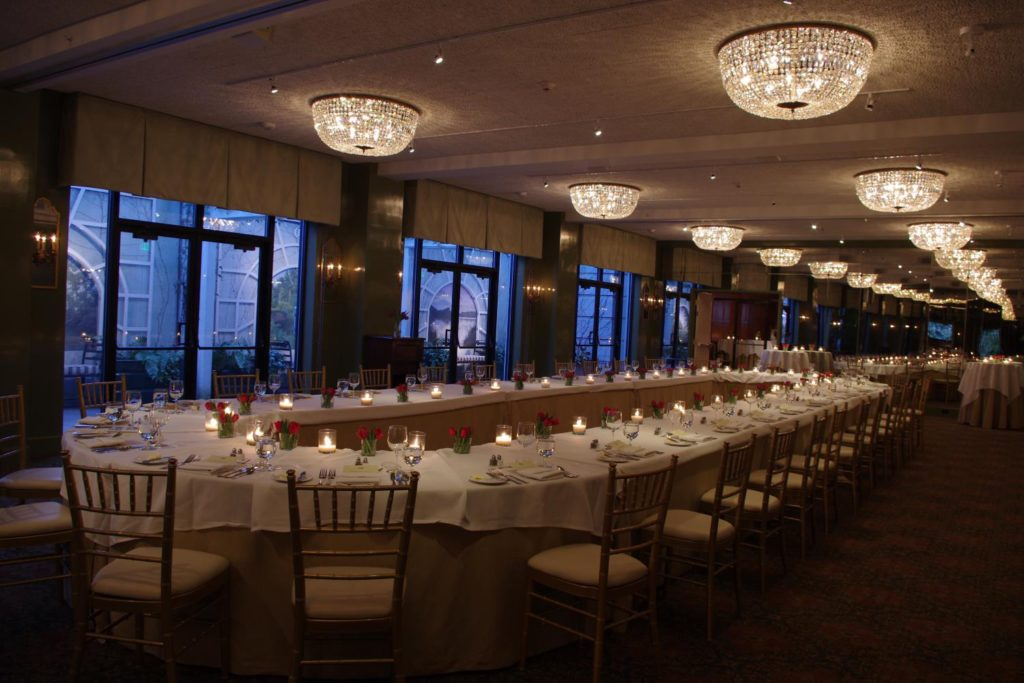 Event Dinner in Hawkins Brown Room at O.Henry Hotel