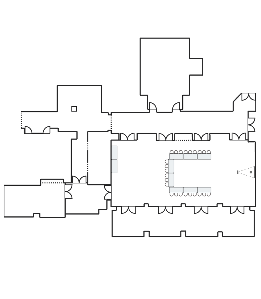 Hawkins Brown U-Shape Set floorplan