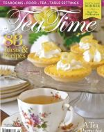 Cover of featured article about O.Henry Hotel in TeaTime Magazine