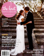 O.Henry Hotel was featured in the Knot Wedding Magazine