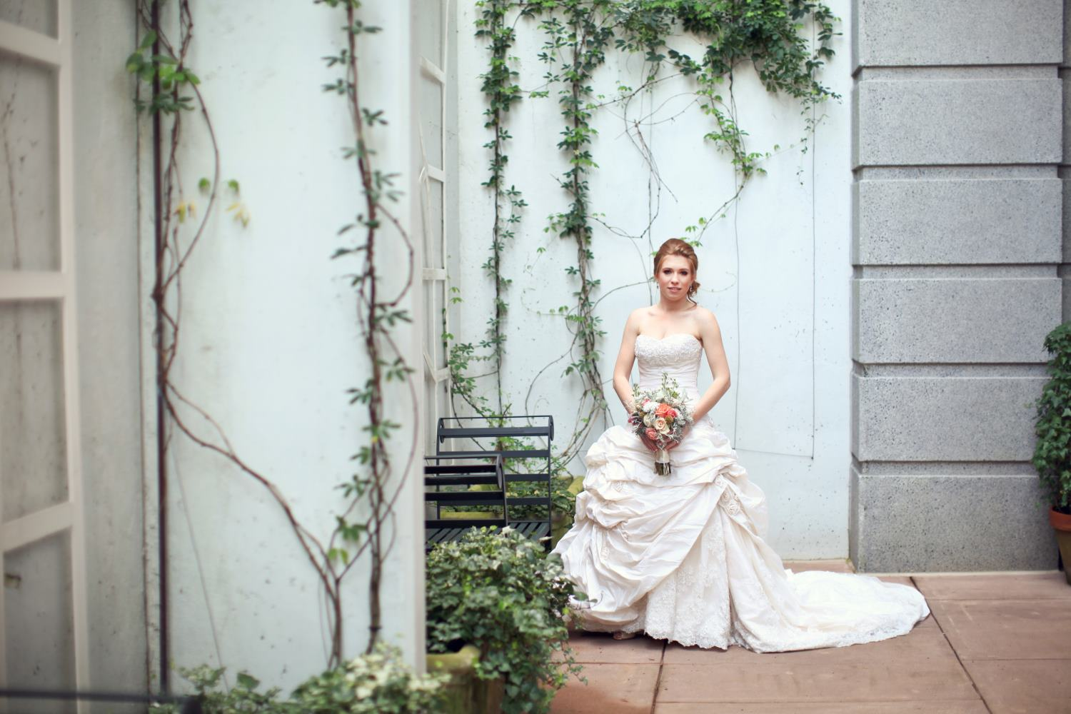 Bridal Portrait Package at O.Henry Hotel in Greensboro, NC