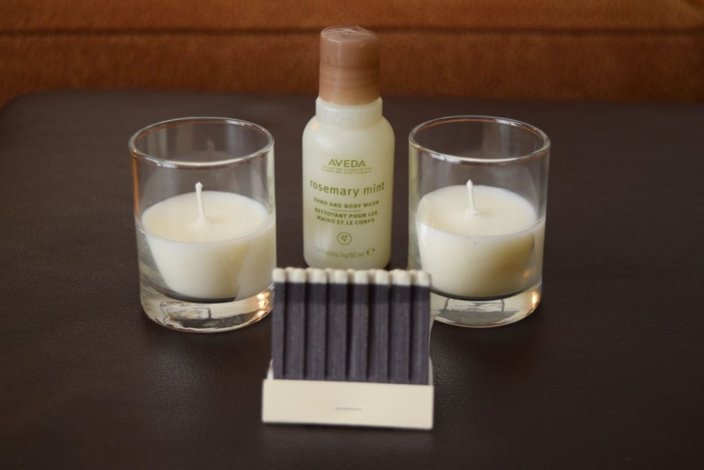 Candles and Bubble Bath Add-On Amenities at O.Henry Hotel