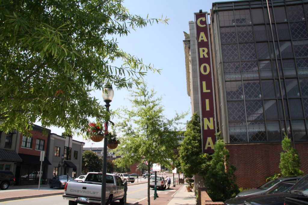 Carolina Theater in Greensboro, NC