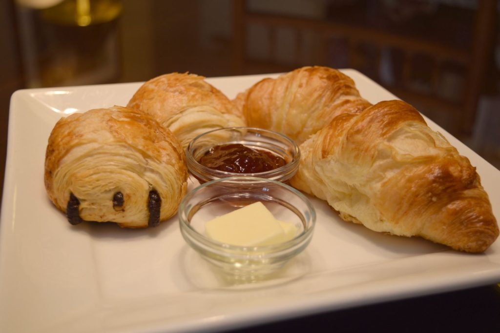 Croissant Plate Add-On Amenity at O.Henry Hotel in Greensboro, NC