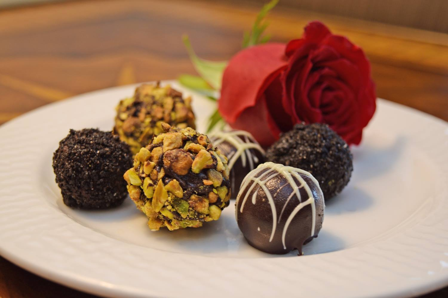 Chocolate Truffles at O.Henry Hotel in Greensboro,NC