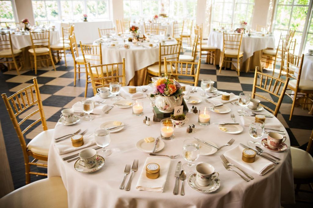 Pavilion Room Wedding at O.Henry Hotel in Greensboro, NC