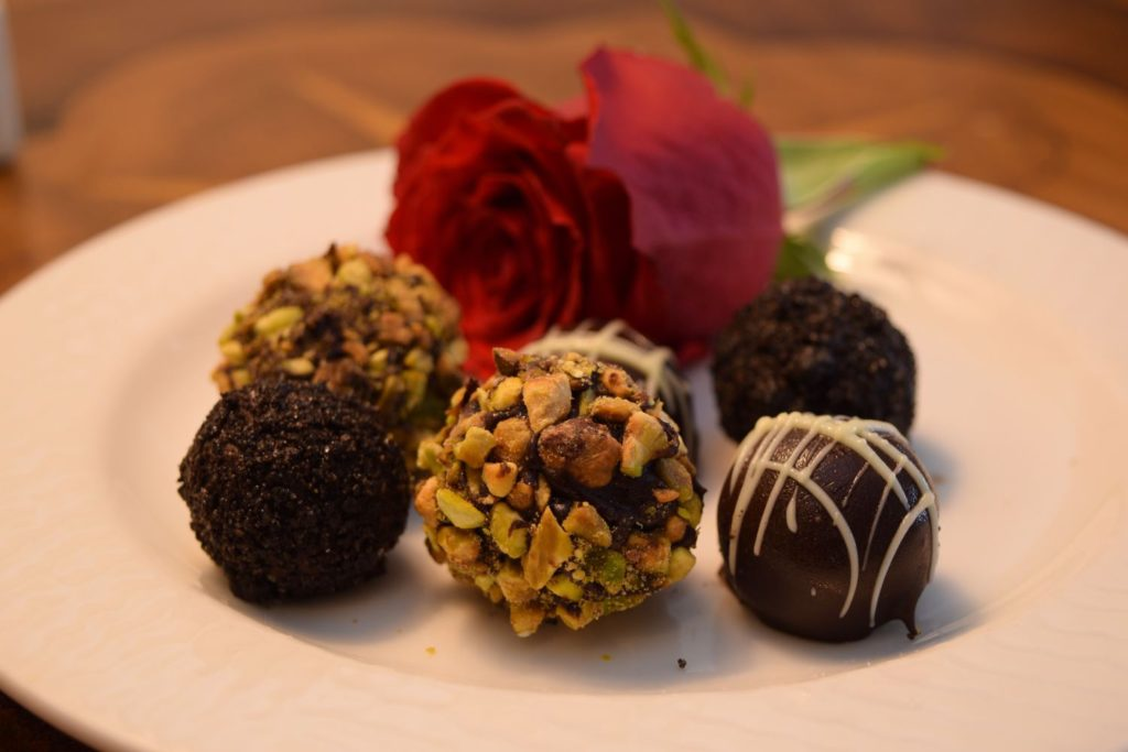 Chocolate Truffles Add-On Amenity at O.Henry Hotel in Greensboro, NC
