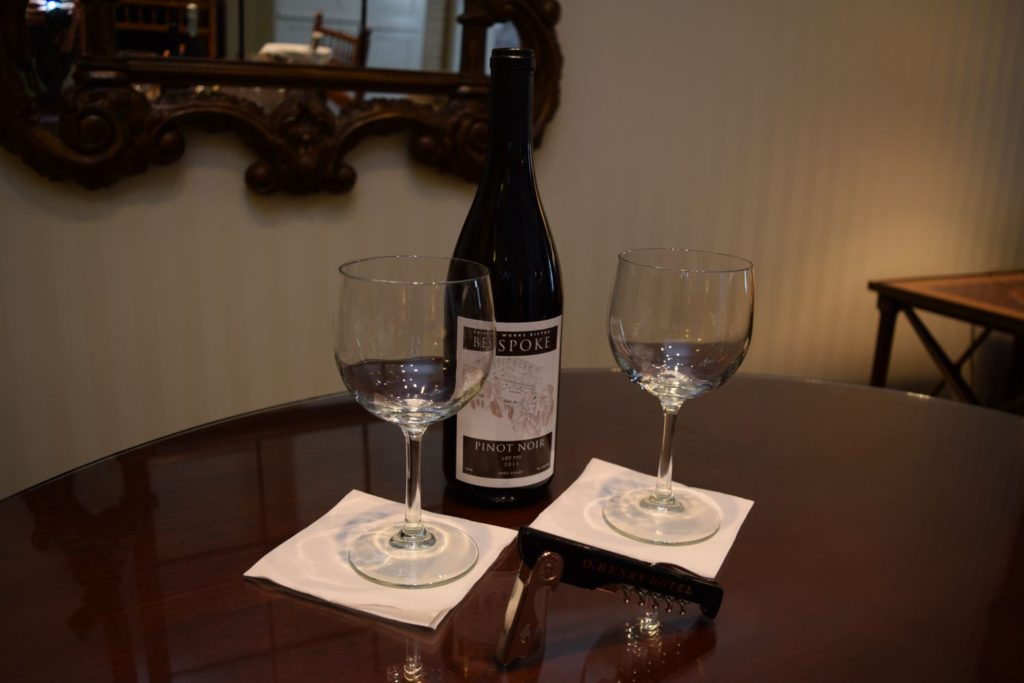 Amenity Wines Add-On at O.Henry Hotel in Greensboro, NC