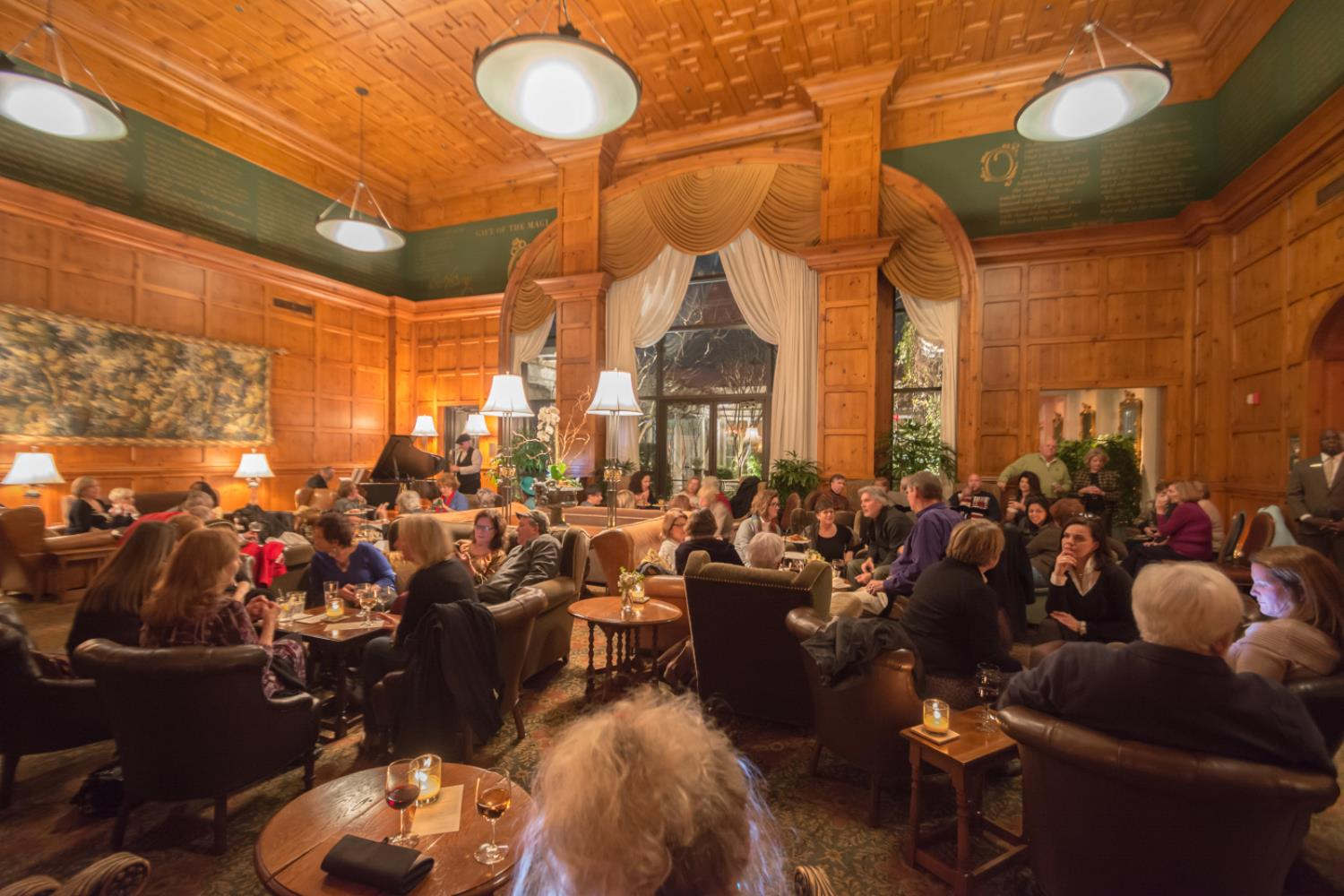 Cocktails and Jazz at O.Henry Hotel in Greensboro, NC
