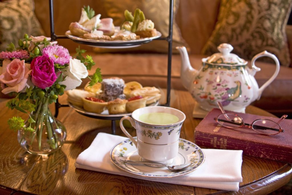Tea at O.Henry Hotel in Greensboro, NC