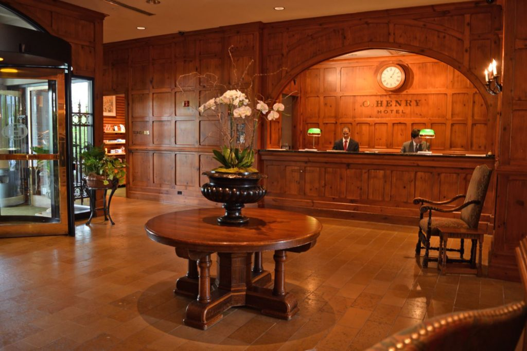 O.Henry Hotel Business Lobby in Greensboro, NC