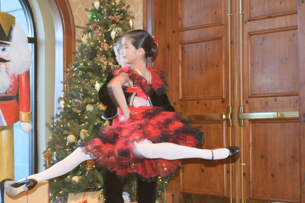 Enjoy live dancers at the O.Henry Holiday Nutcracker Tea