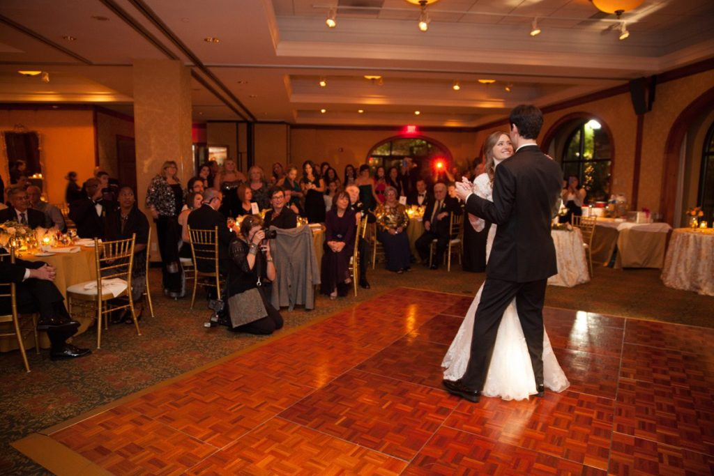 First Dance at Wedding at O.Henry Hotel