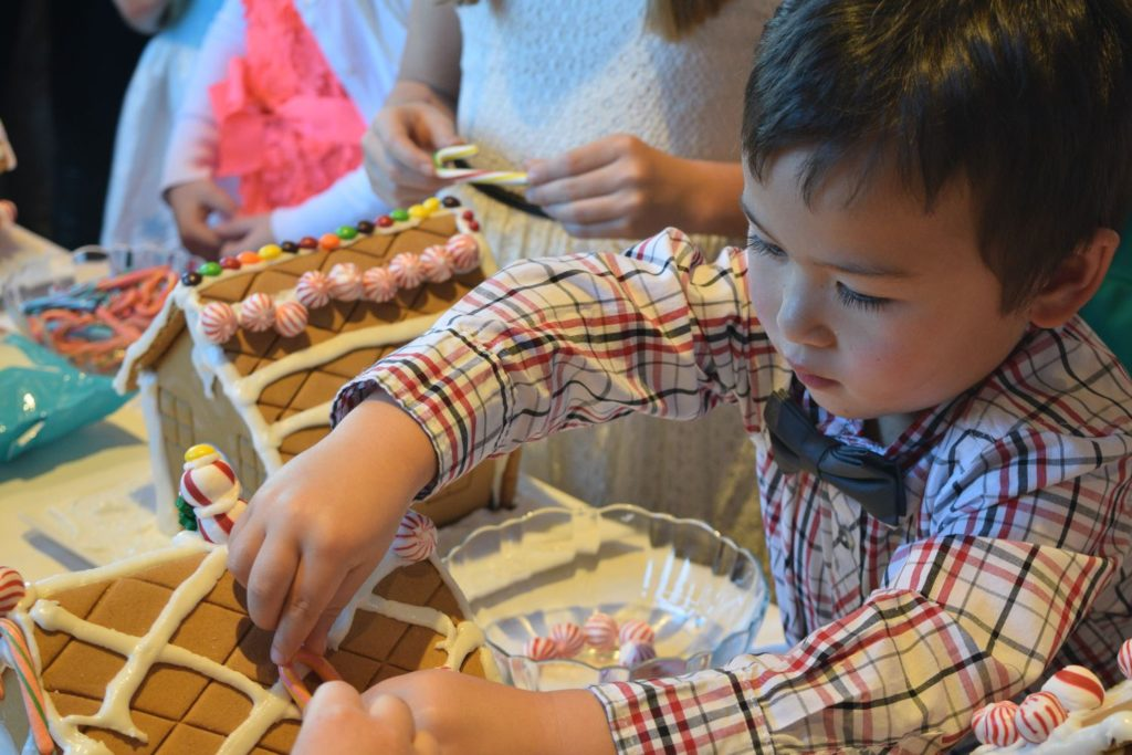 Decorate Gingerbread Houses at the Holiday Nutcracker Tea at O.Henry Hotel