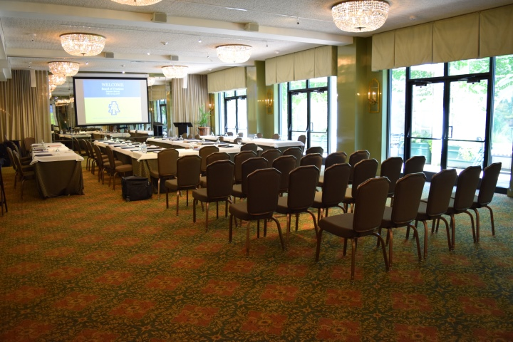 Hawkins Brown Meeting and Event Space at O.Henry Hotel