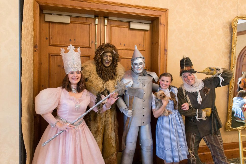 Cast of Characters at O.Henry Hotel's Wizard of Oz Tea
