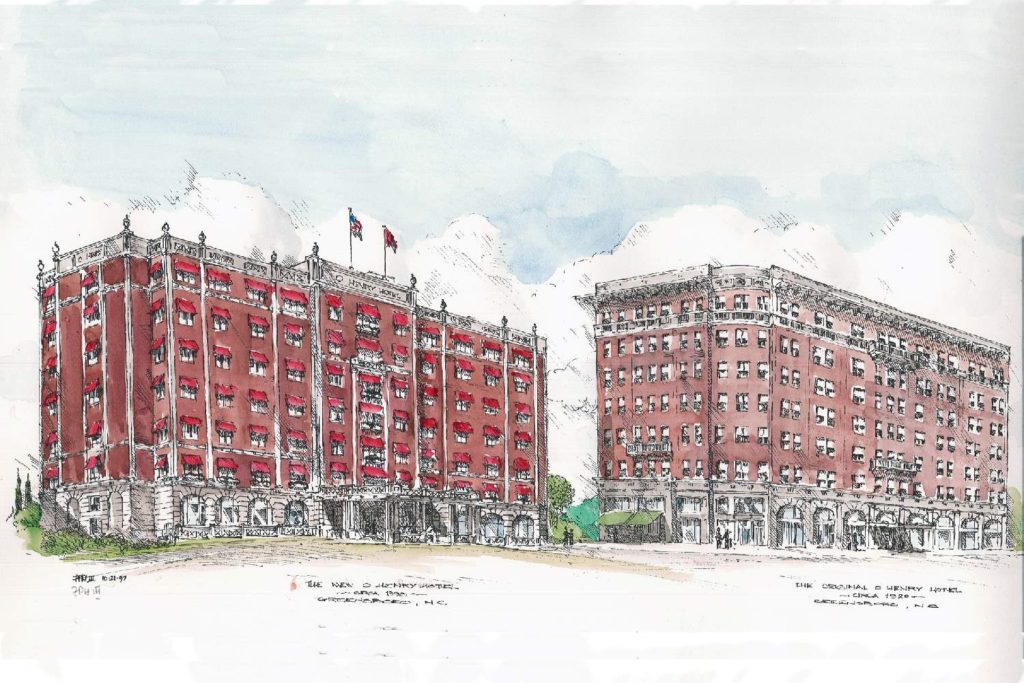 O.Henry Hotel Sketches by Chip Holton