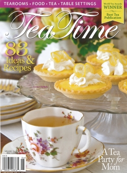 O.Henry Hotel was featured in TeaTime Magazine