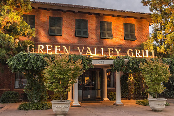 Green Valley Grill Facade