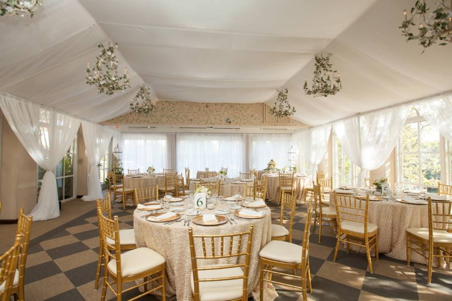 Bespoke Wedding Reception in Pavilion