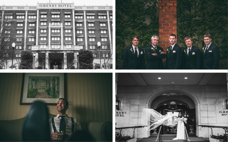 O.Henry Hotel Weddings - Andrea and Kevin 2