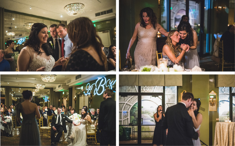 O.Henry Hotel Weddings - Andrea and Kevin reception