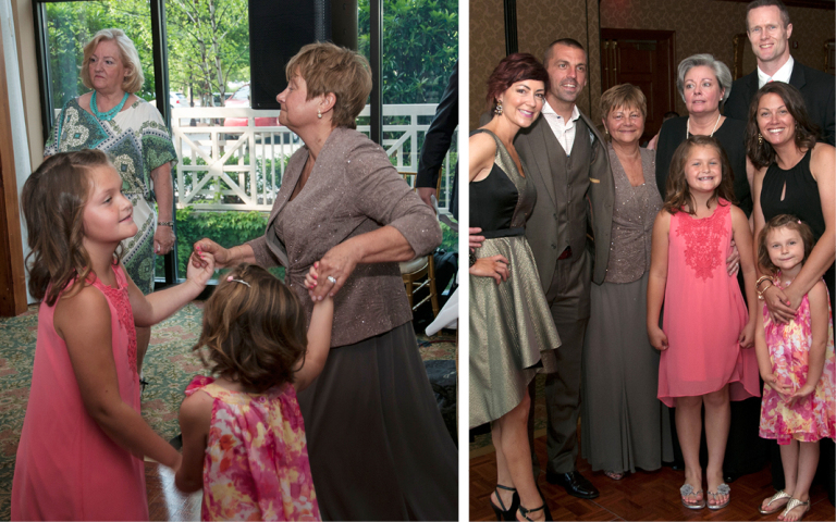 O.Henry Hotel Weddings - Madeline and Joanna with kids