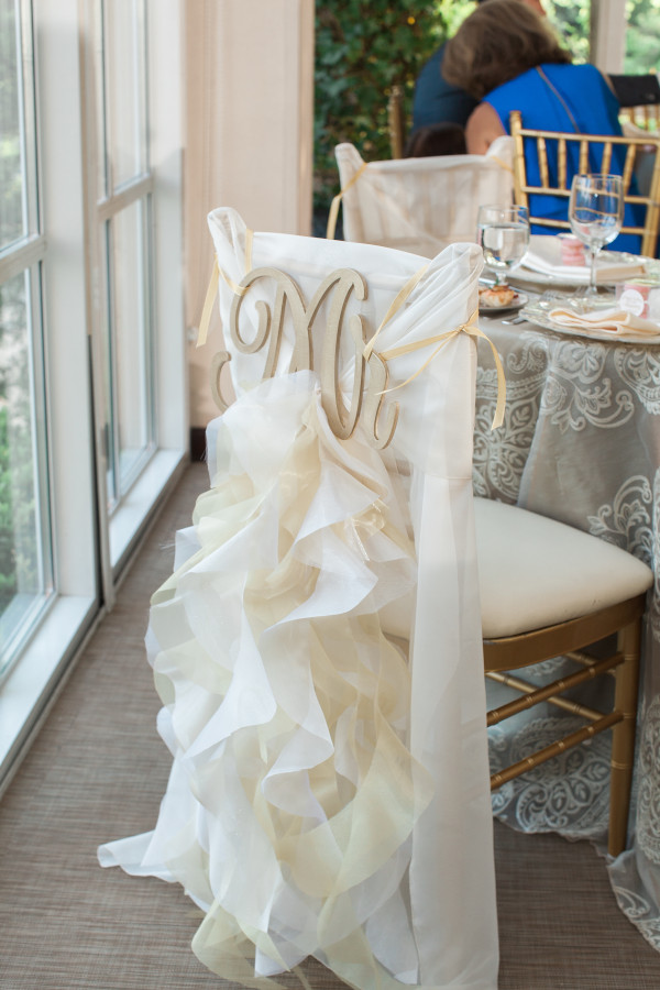 Weddings at O.Henry Hotel with Stephanie and Tim's Sweetheart Table