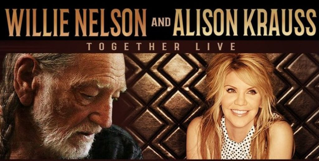 Willy Nelson and Alison Krauss Live in Greensboro