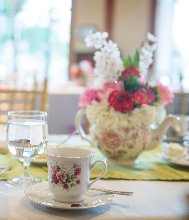 Downton Tea at O.Henry Hotel