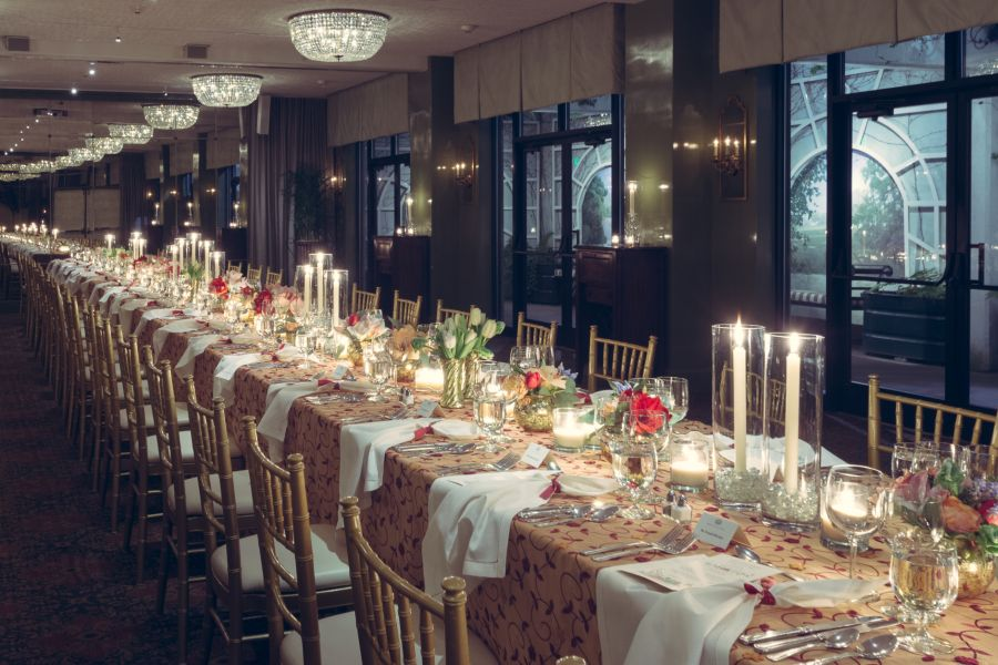 Tablescape in Hawkins Brown